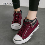 Women Vulcanized Shoes Fashion Sneakers Ladies Canvas Shoes Summer Trainers Black Basket Femme Casual Denim Tenis Feminino 2020
