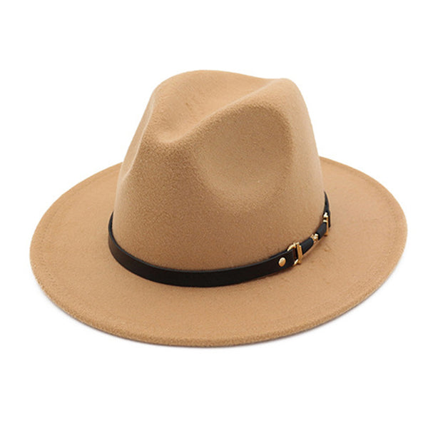Wide Brim Cowboy Solid Colors Hats