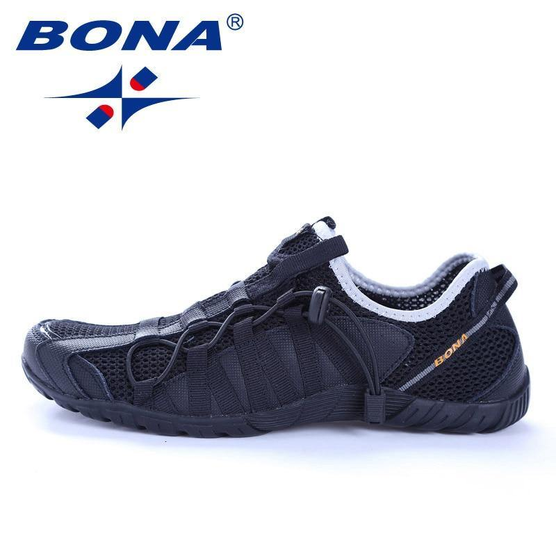 Men New Style Lace Up Running Outdoor Shoes