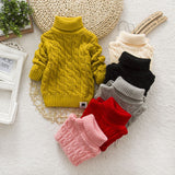 Tops Wool Sweaters Clothing Sweater Infant Boy Girl Kids Clothes