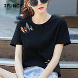 T Shirt Casual Female Short-Sleeve