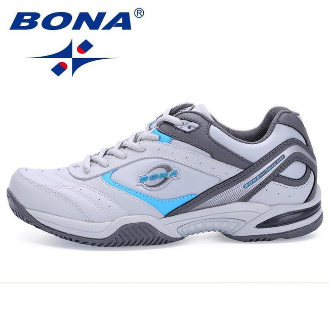 BONA New Classics Style Men Tennis Shoes Athletic Sneakers For Men Orginal Professional Sport Table Tennis Shoes Free Shipping