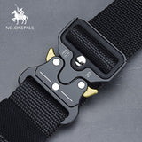 Men's Tactical Military high quality Metal Buckle Belt