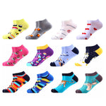 Men 12 Pairs/Lot Casual Colorful Summer Ankle Socks
