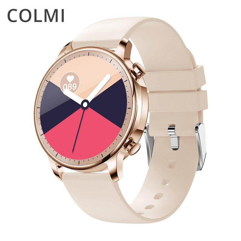 COLMI V23 Women Smart Watch Full Touch Fitness Tracker IP67 Waterproof Blood Pressure Smart Clock Men Smartwatch