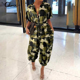 Camouflage Print Jumpsuits For Women