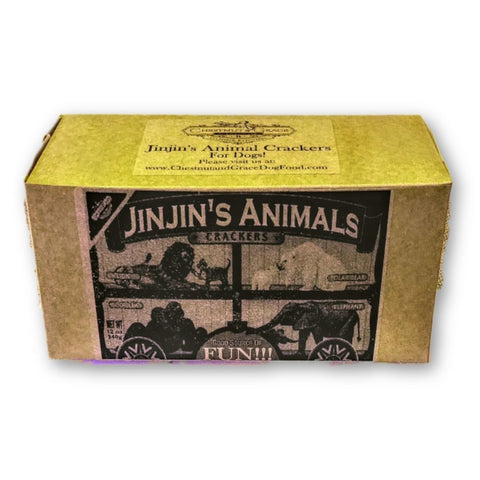JinJin's Animal Crackers for Dogs