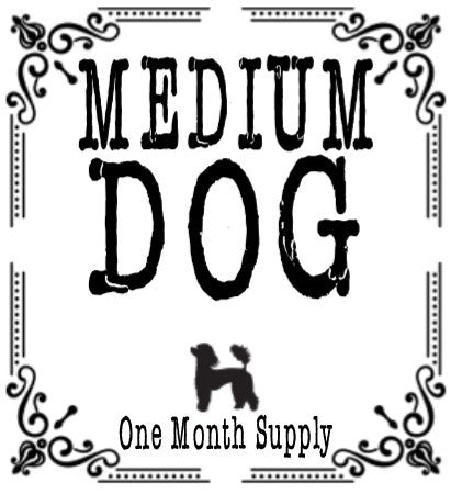 One Month Membership for a 26-50 LB Dog