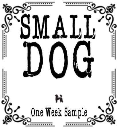 One Week Sample for 1 - 25 LB Dog