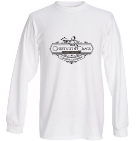C&G Woman's Tee Long Sleeve White