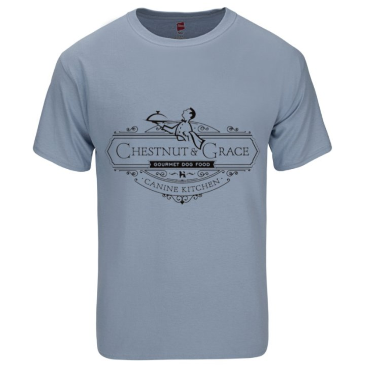 C&G Men's Tee Blue Gray