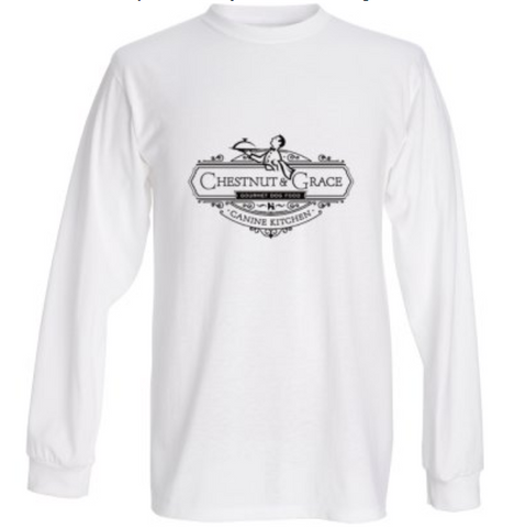 C&G Men's Long Sleeve White