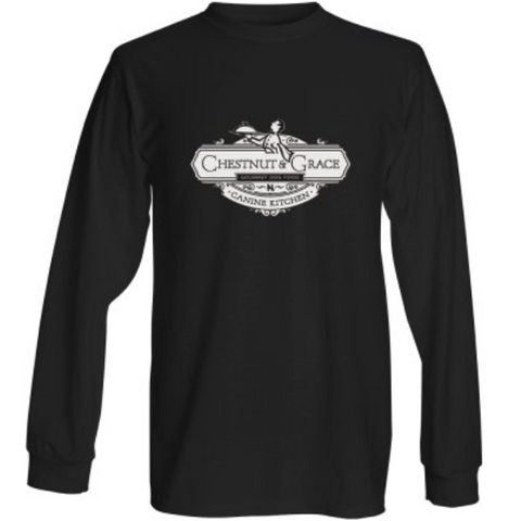 C&G Men's Long Sleeve Black