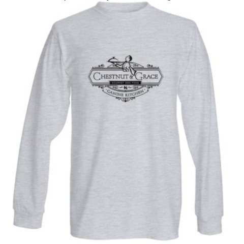 C&G Men's Long Sleeve Gray