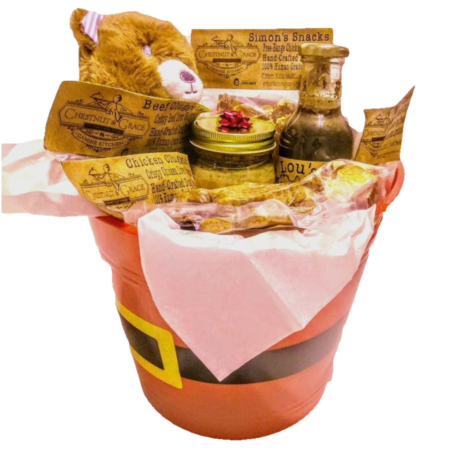 Large Christmas Treat Basket