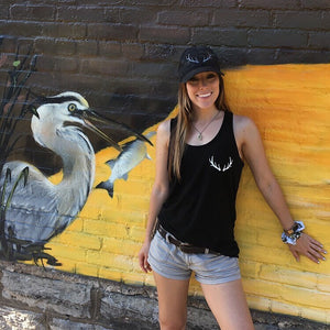 **ONE LEFT IN STOCK** Classic Antler Tank