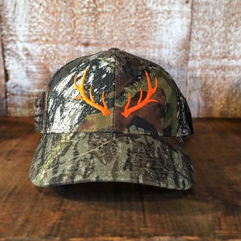 Antler woodland Camo - orange