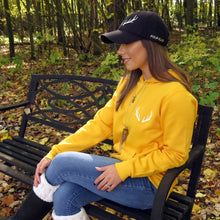 Load image into Gallery viewer, Antler Sweater - yellow
