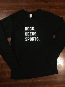 Dogs & Beers Long Sleeve