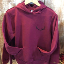 Load image into Gallery viewer, Antler Sweater - maroon