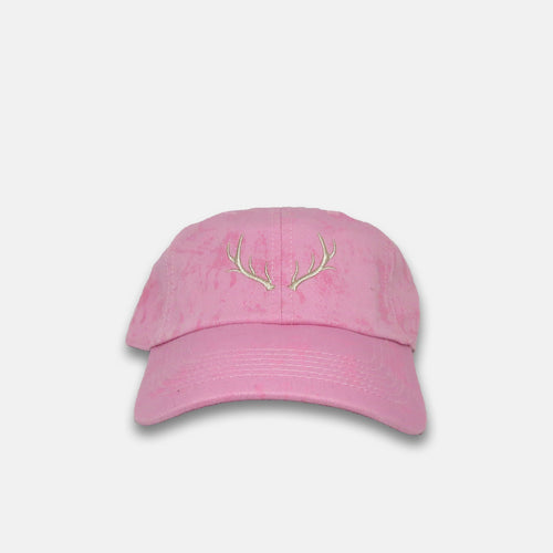 Pink Crackle Hat