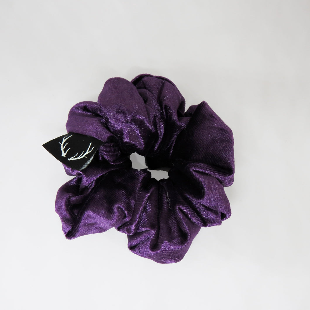 Purple Velvet Scrunchie *one left in stock*