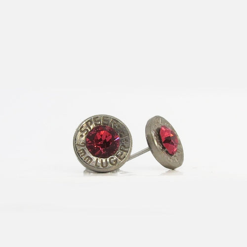 Bullet studs - Ruby