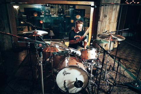 AARON GILLESPIE DRUMS