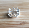Ring crown sterling silver