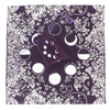 Altar/Tarot cloth & bag moon phase - purple