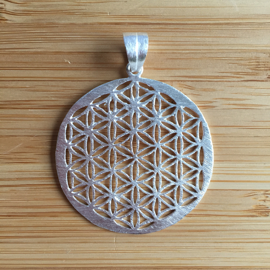 Pendant Flower Of Life Sterling Silver