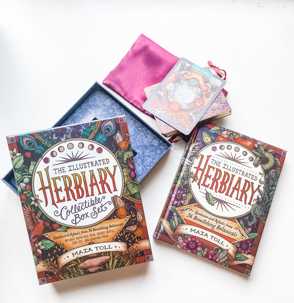 Illustrated Herbiary Box Set - Maia Toll