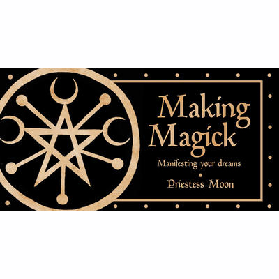 Pocket Deck: Making Magick: Mainfesting Your Dreams - Priestess Moon