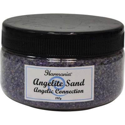 Sand in Jar Angelite - Angelic Connection