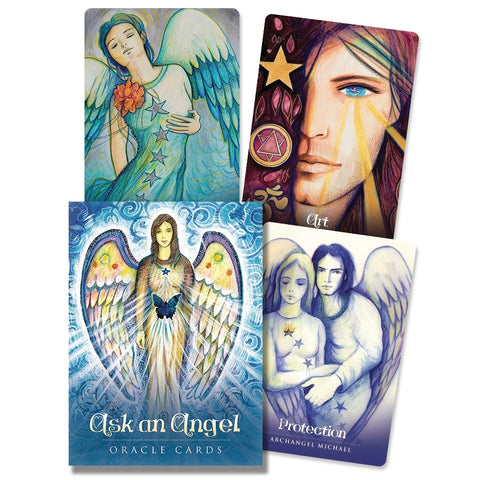 Ask an Angel Oracle Cards - Mellado