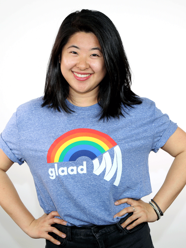 GLAAD Rainbow T-Shirt
