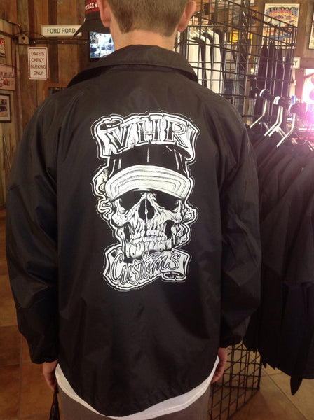 """Skull"" Coaches Windbreaker"