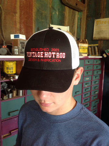"SnapBack trucker hat embroidered ""Vintage Hot Rod"""
