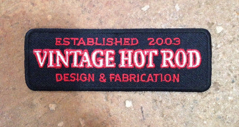 Vintage Hot Rod Chest Patch