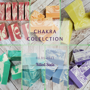 Coming Soon... The Chakra Bar Soap Collection