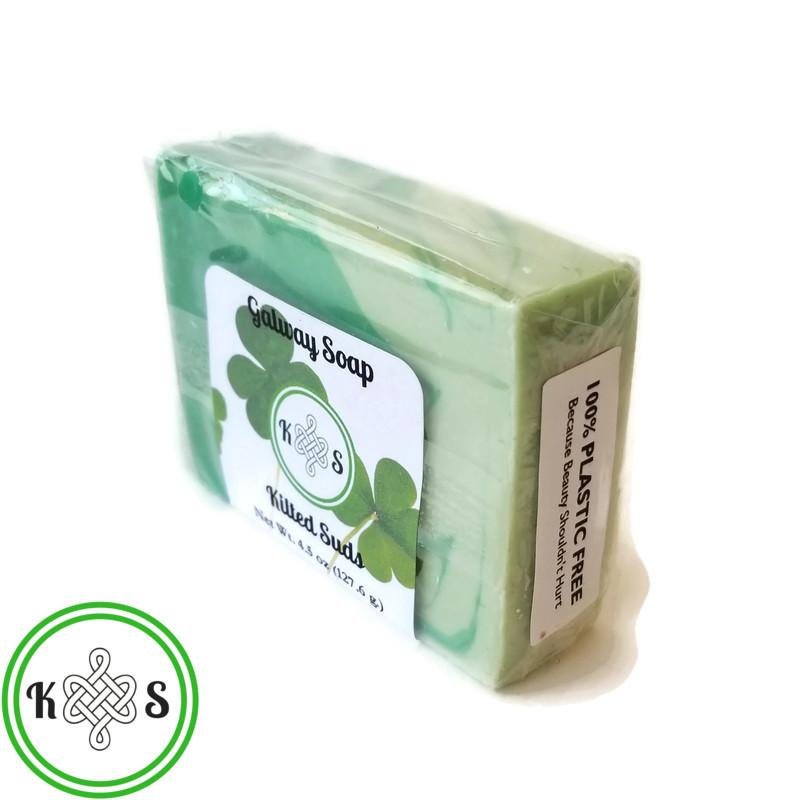 NEW Compostable Plastic-Free Soap Packaging!