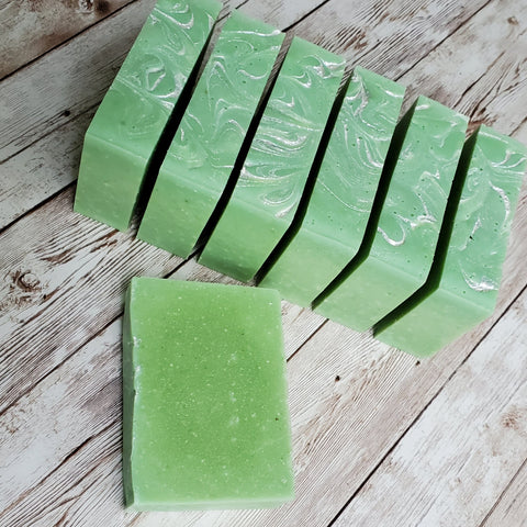Lemme Lime Bar Soap with avocado and lime