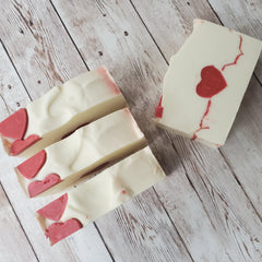 Heartbeat Bar Soap by Kilted Suds