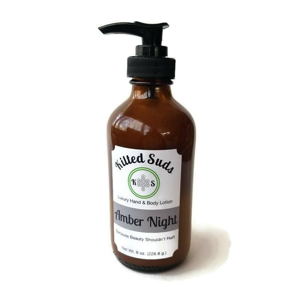 Amber Night Lotion - Kilted Suds