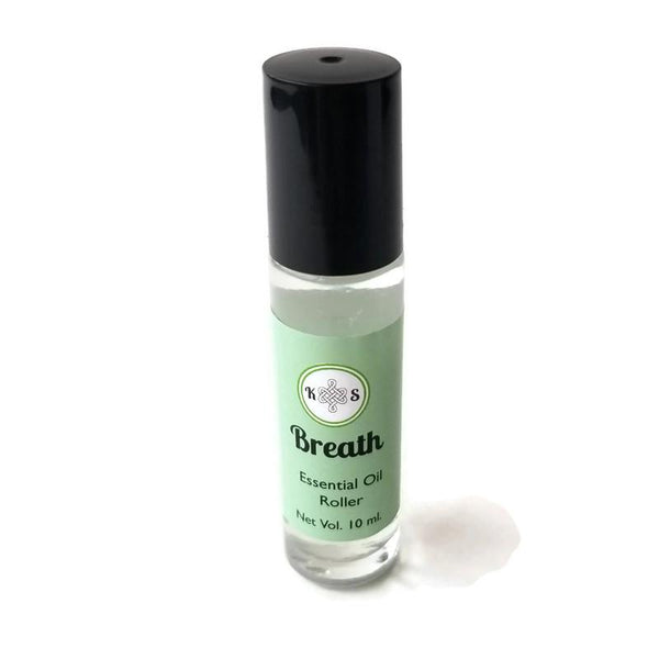 Breath - Essential Oil Roller Bottle - Kilted Suds