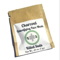 Charcoal Detoxifying Face Mask Small - Kilted Suds