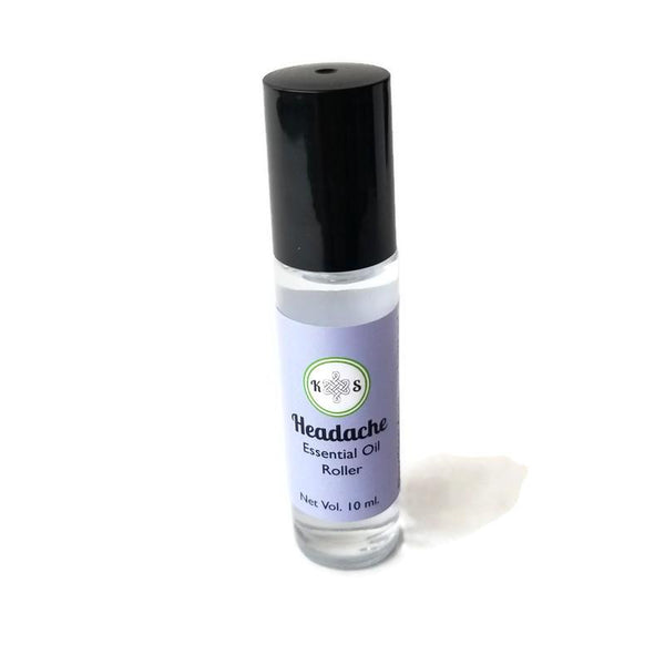 Headache - Essential Oil Roller Bottle - Kilted Suds