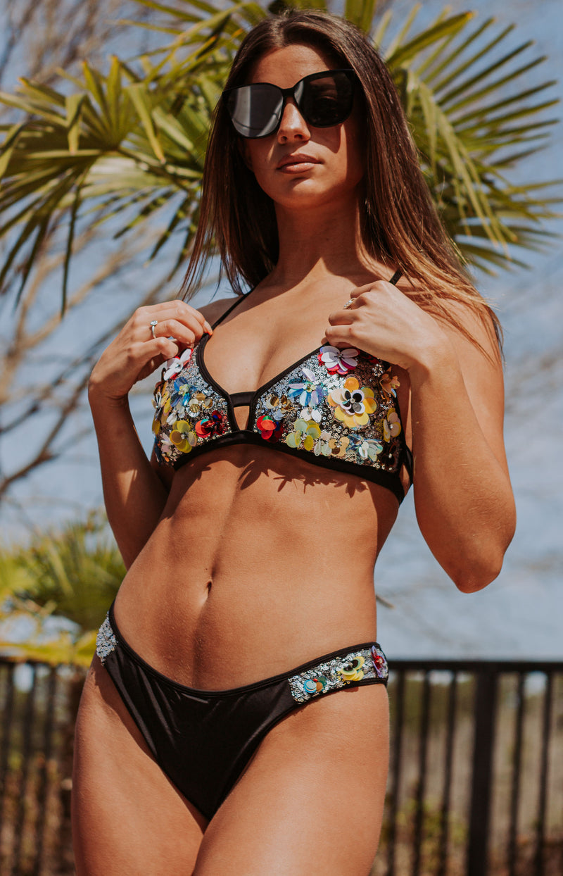 Sunshine Days Sequin Bikini Bottoms
