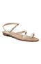 Shu Shop: Campana Studded Flat Sandals - White