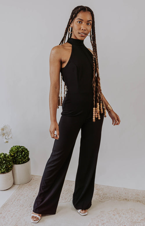 Perfect Getaway Tropical Print Strapless Jumpsuit